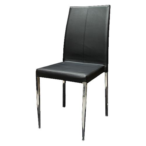 Chaise Camélélon noire