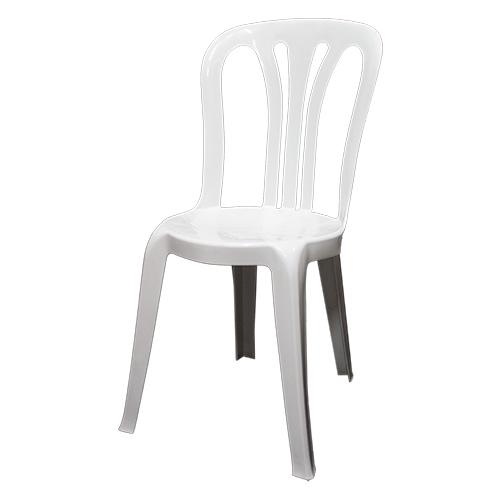 Location de chaise de jardin bistro blanche, Chaise bistro