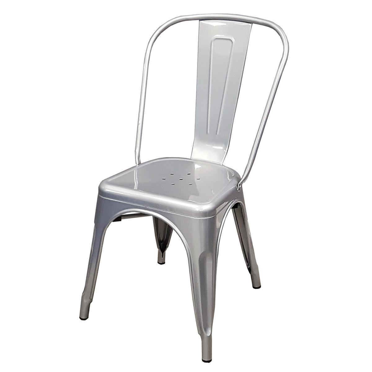 chaises tollix amazing tolix chaise a interesting tolix chaises mobilier industriel la nouvelle. Black Bedroom Furniture Sets. Home Design Ideas