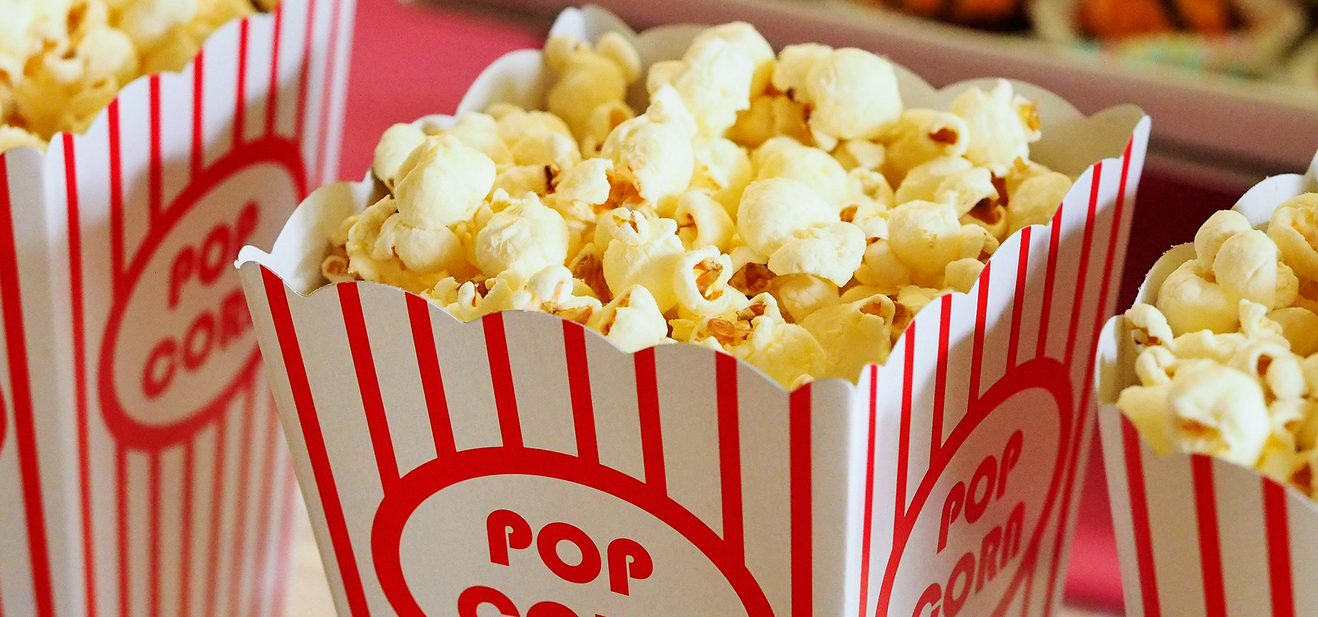 Popcorn et Barbe-à-papa