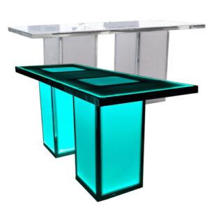 Table Illuminée RGB