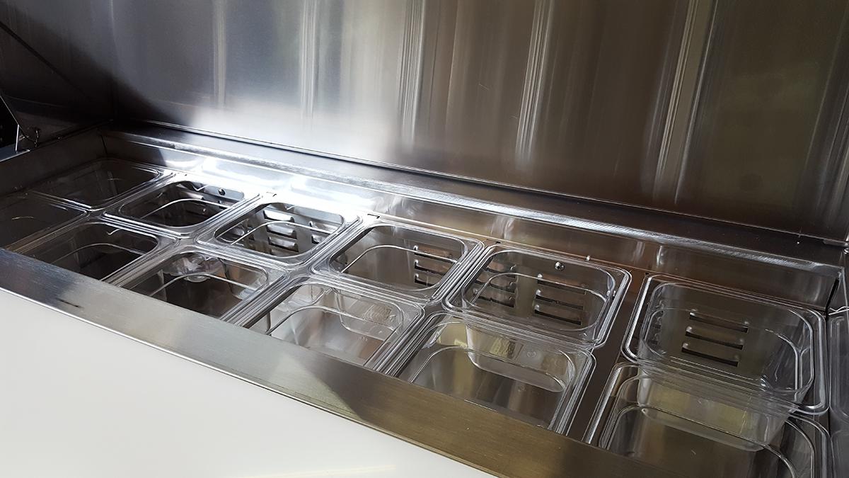 Table de préparation réfrigérée