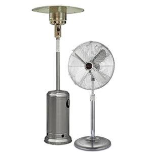 chauffage et ventilateurs