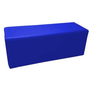 Pouf bleu