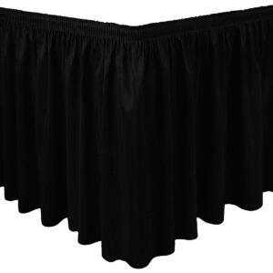 Jupe de table noire