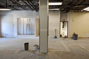 Bureaux en construction