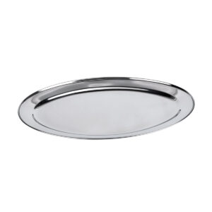 PLateaux Trays Stainless steel oval