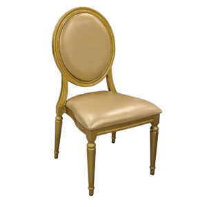 Chaise Louis Or