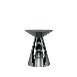 Table D'Appoint Chrome Luxor